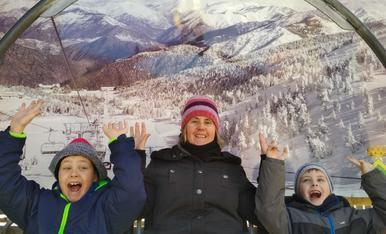 Un dia de fred amb la família