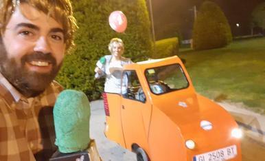 Per al primer Carnestoltes del nostre fill hem reconvertit el cotxet amb la pick up del Foraster, tota una insígnia de les zones rurals! A Agramunt ens encanta el Carnestoltes!