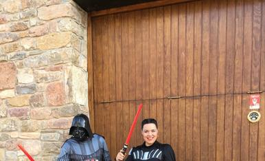 Tota la família de Star Wars,Darth Vader!
