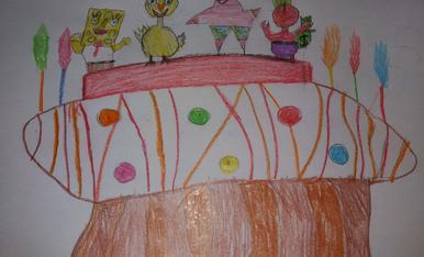Hola!, em dic Martí  i tinc 5 anys. Mona del Bob esponja. A mi m'agrada molt.
