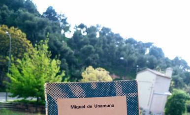 El llibre que m'estic llegint es Niebla de Unamuno i m'està encantant