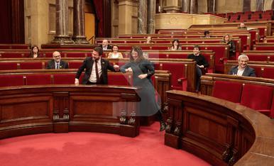 © Catalunya aprova els pressupostos i manté distàncies