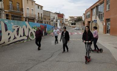 Los menores de 14 años toman las calles de Lleida después de 6 semanas encerrados
