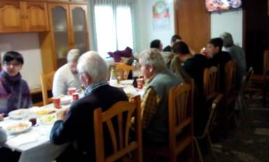 Amb un bon dinar amb tota la família!