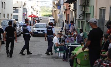 © Els Mossos patrullen pel Baix Segre