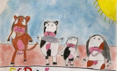 Aquest any, per anar fent boca, les vaques de la Vall d'Àneu han organitzat el seu Esbaiola't particular!