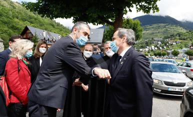 Quim Torra consolida el compromís català per l'autodeterminació d'Aran i per la seua llengua