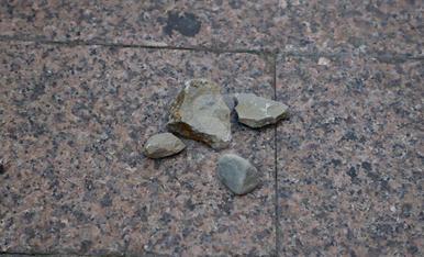 Vàndals tiren pedres a l'Eix Comercial de Lleida