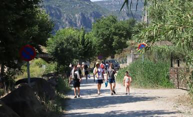 Camarasa, Sant Llorenç de Montgai i Mont-rebei en l'inici de l'estiu
