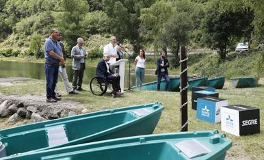 Presentació de la campanya 'El riu ens activa'