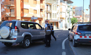 Controls de confinament a les carreteres del Segrià