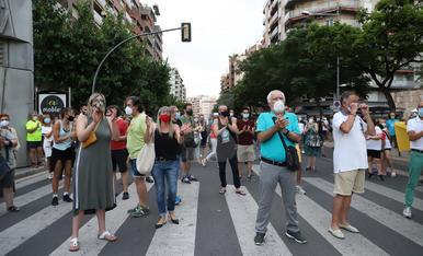 Indignació ciutadana i empresarial a Lleida arran de les noves mesures de confinament