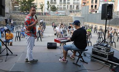 Concert de Fase Cultura a la lpaça Panera de Lleida