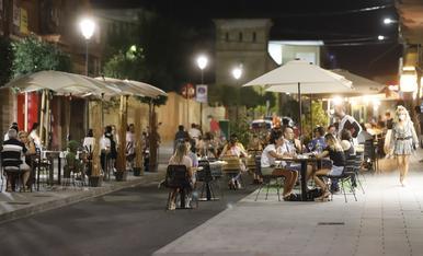 © Les terrasses prenen els carrers de Lleida