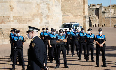 Presa de possessió de 31 nous agents de la Guàrida Urbana de Lleida