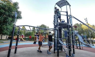 © Reobren els parcs infantils de Lleida