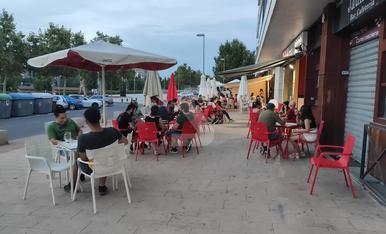 © Lleida, amb vora 40º i només terrasses