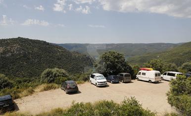 Turistas en el Congost de Mont-Rebei