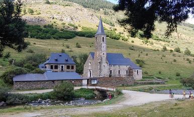 Santuari de Montgarri, Vielha