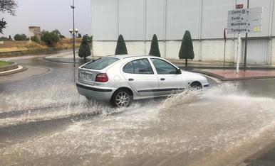 Una tormenta descarga 24 l/m² en el Urgell