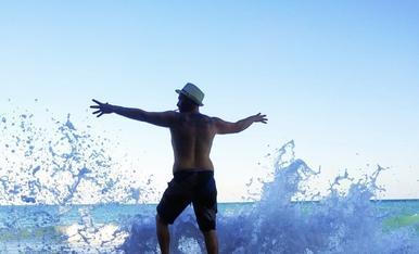 Una tarda d'estiu a Sitges! Gaudint tot escoltant i dirigint al ritme de les ones del mar!