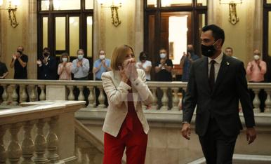 © Forcadell torna al Parlament