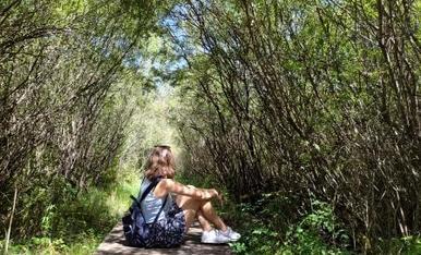 Llocs amb molt encant on t'endinses en la natura.  Barruera, ruta del salencar.