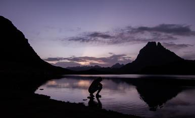Comença el dia als Pirineus
