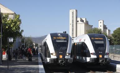 © La línia de la Pobla recupera un tren