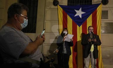 Queman fotos del rey antes de su visita a Cataluña