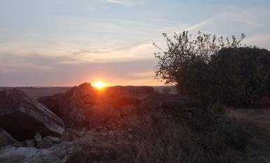 Eixida de sol de tardor espectacular