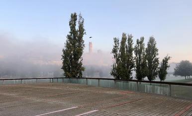 Lleida es desperta. Són les 8.
