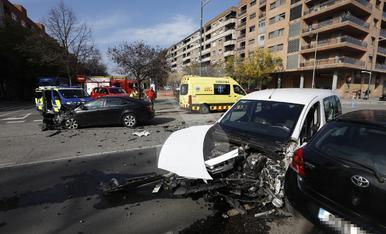 © Aparatós accident a Pardinyes