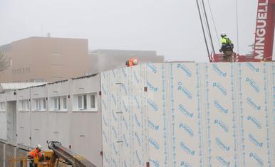 El nou edifici de l'hospital Arnau de Vilanova pren forma