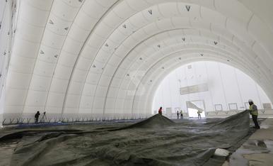 © Un altre hangar per a l'aeroport d'Alguaire