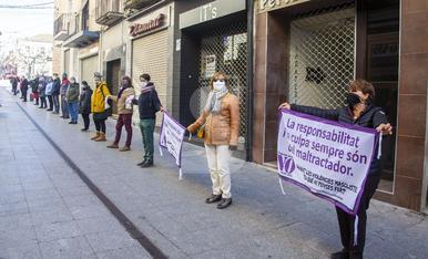 © Protesta contra la violència masclista