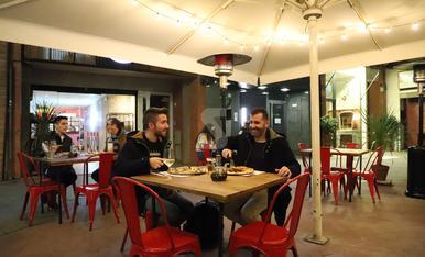 © Sopars amb abric en horari europeu