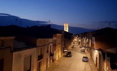 El campanar de Pisa, a Vilagrassa