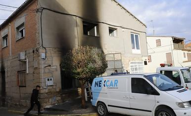 © Greu al cremar un garatge a Arbeca