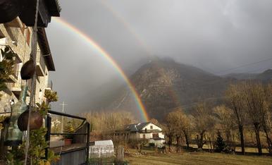 Arco iris...cuando llueve y sale el sol