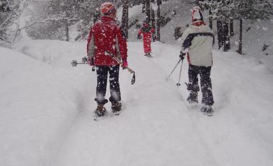 Les raquetes de neu, són una bona alternativa per gaudir de la natura a l'hivern