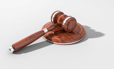 Una maça d'un jutge