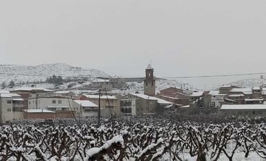La Granja d'Escarp nevada. Foto: Francesc Aran