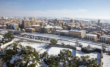 Tàrrega, en una imatge feta aquesta setmana, ja és de nou la segona ciutat de Lleida en població.