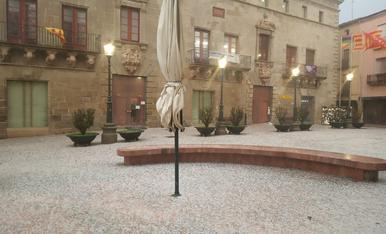 Granizada en el llano de Lleida (en actualización)