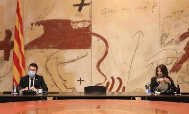 """Aragonès recorda que el dret d'assistir a un míting preval jurídicament però demana """"sentit comú"""""""