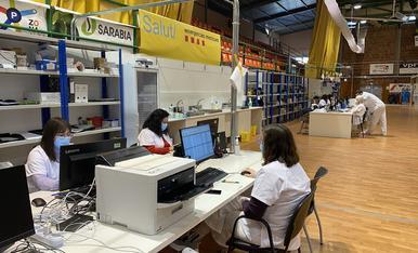 El pavelló Onze de Setembre serà el centre logístic de la campanya de vacunació a Lleida