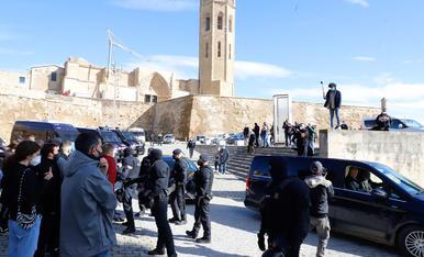 Els Mossos eviten incidents en un acte de Vox amb Abascal a Lleida