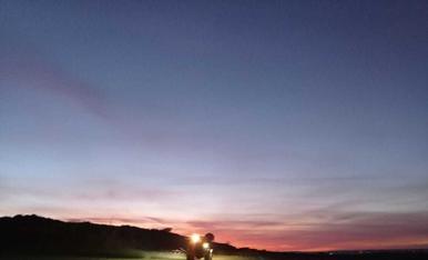 Ensofatant de nit a Montoliu de Lleida