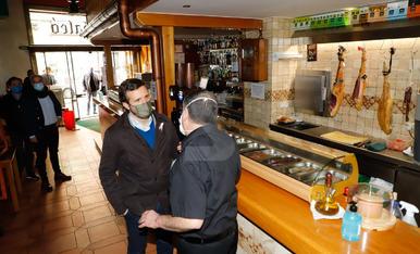 Visita de Pablo Casado a Lleida